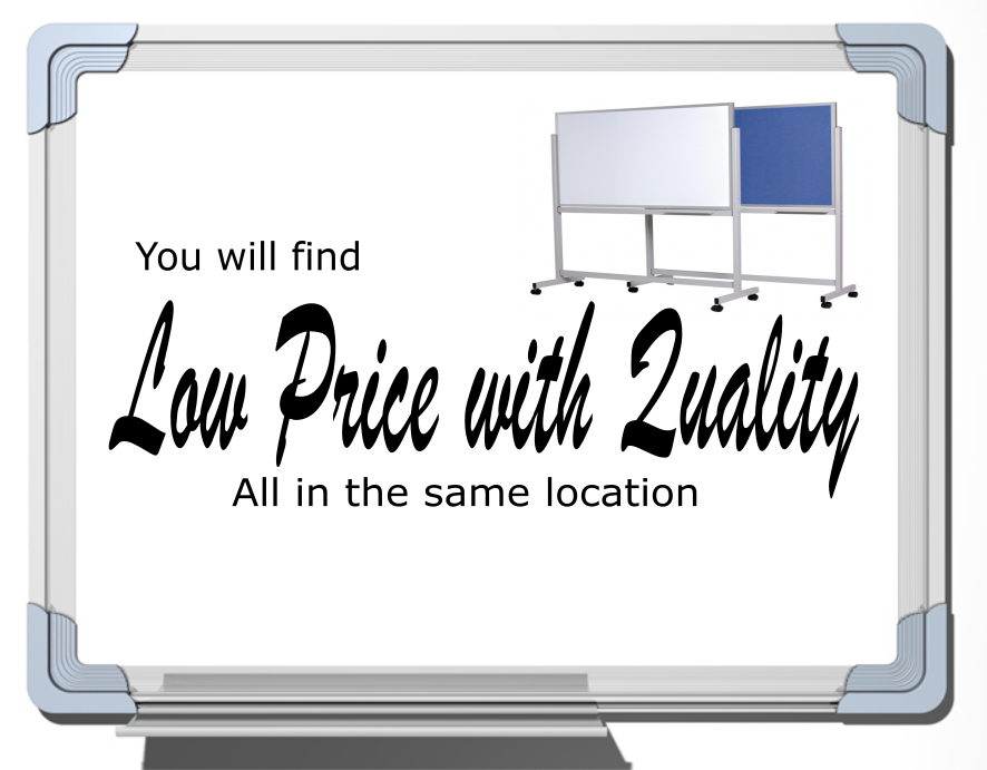 Quality Low Price Whiteboard Banner