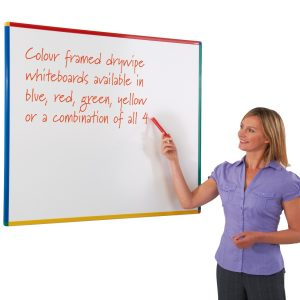 Colour-key whiteboard