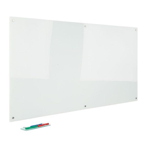 Glass Whiteboard White