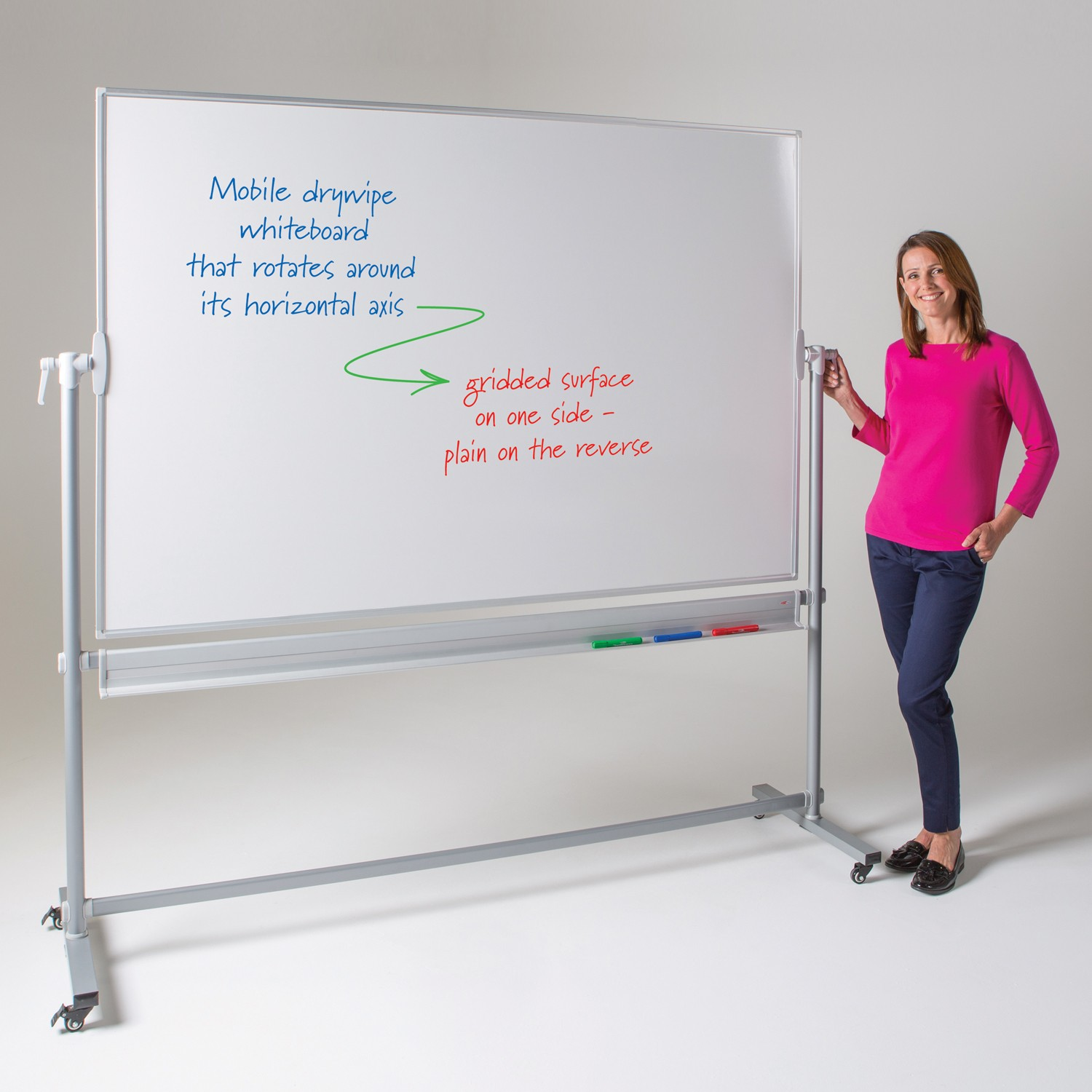 Mobile Magnetic Whiteboard The Whiteboard Amp Noticeboard Shop