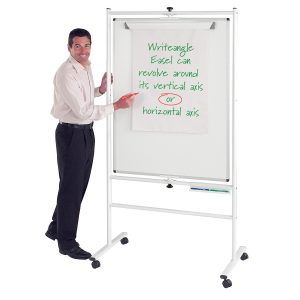 Mobile Pivoting Whiteboard