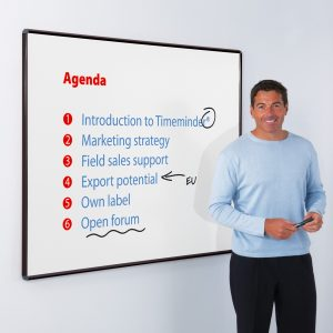 Vitreous Enamel Projection Whiteboard