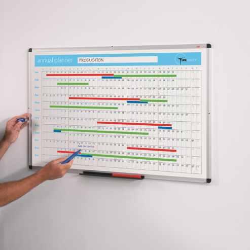 Dry-wipe Planner Whiteboards