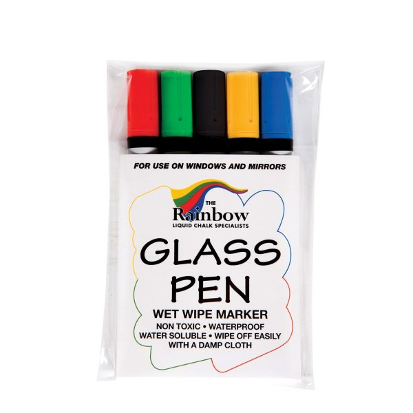 Glass Coloured Whiteboard Pens