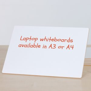 Laptop Whiteboard A3 or A4