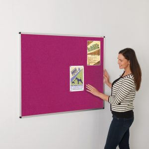 ColourPlus Aluminium Framed Noticeboards