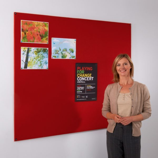 Frameless Felt Noticeboards