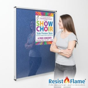 New Eco-Colour Tamperproof Resist-a-Flame Boards